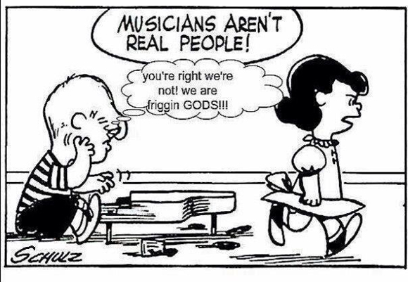 never date a musician