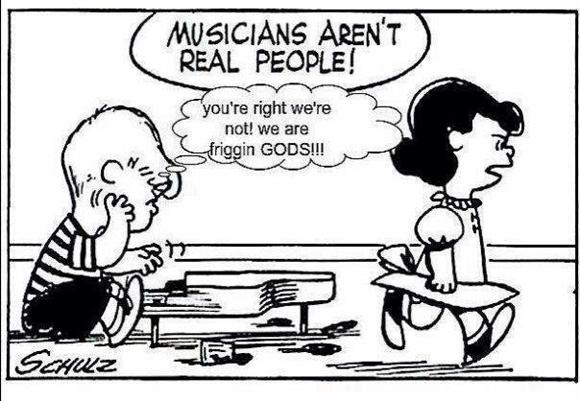 Dating a musician