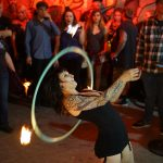 Fire Dancer at Herman's Hideaway