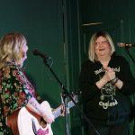 Angie Stevens and Amanda Capper at Crescent Grange